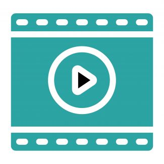 a video player graphic
